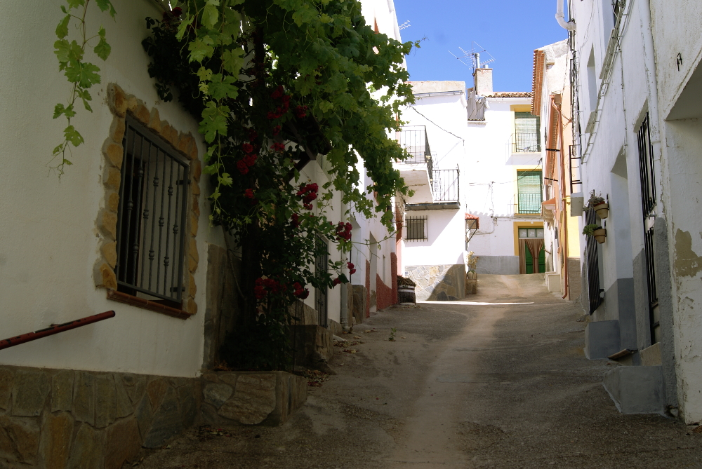 Calle típica de Paterna