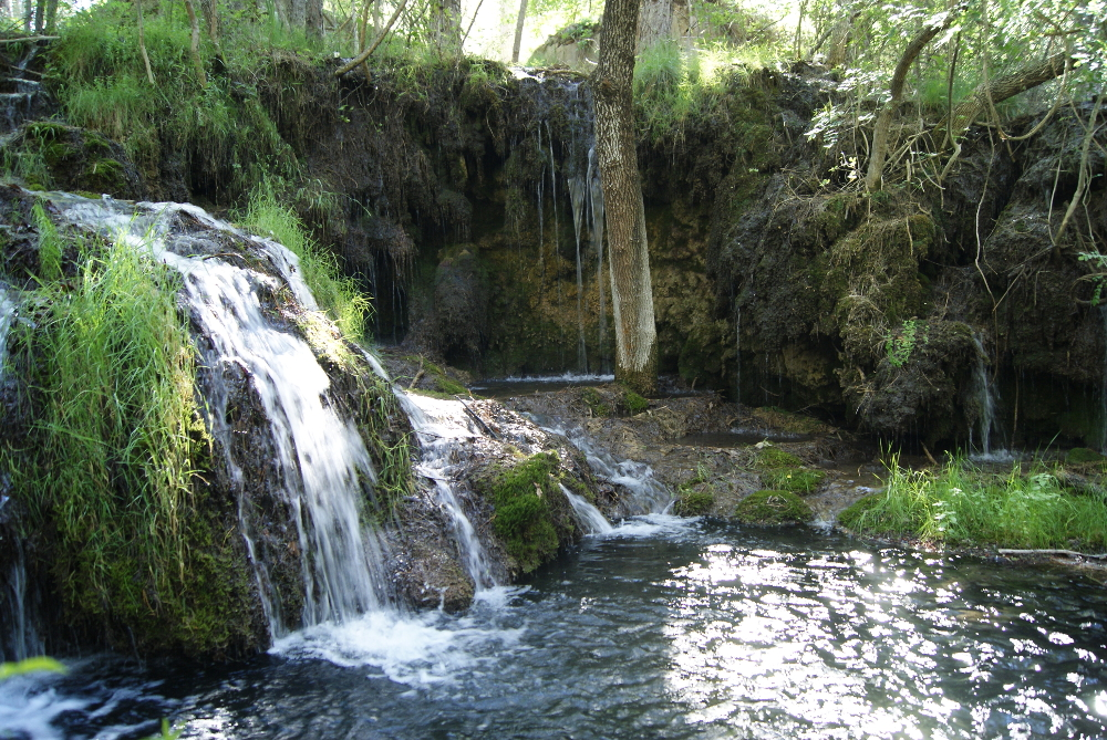 Salto de agua en Paterna